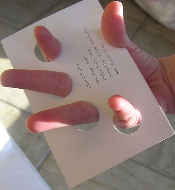 Creative business cards the cut copy girl the reheart Gallery