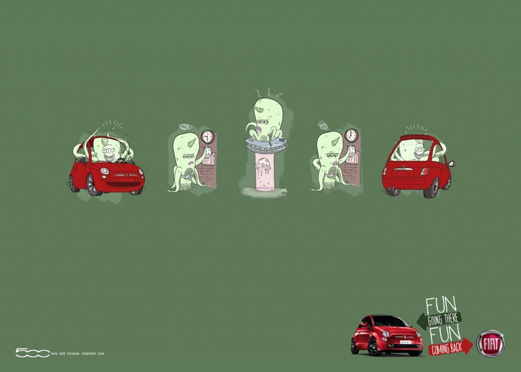 Alien Fiat 500